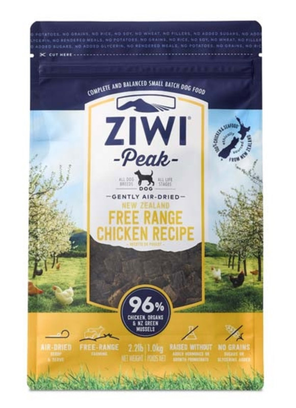ZiwiPeak Dog - Air-dried Chicken 2,5 kg thumbnail