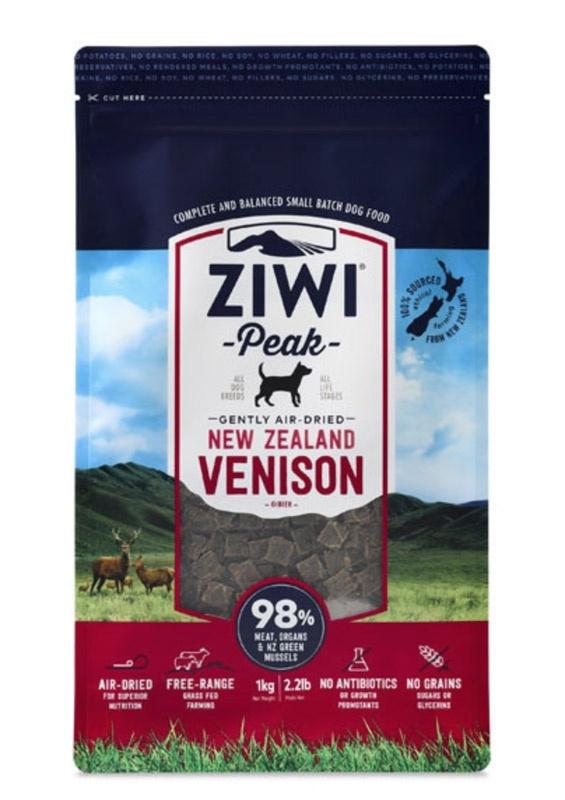 ZiwiPeak Dog - Air-dried Venison - HJORTEKØD 2,5 kg thumbnail