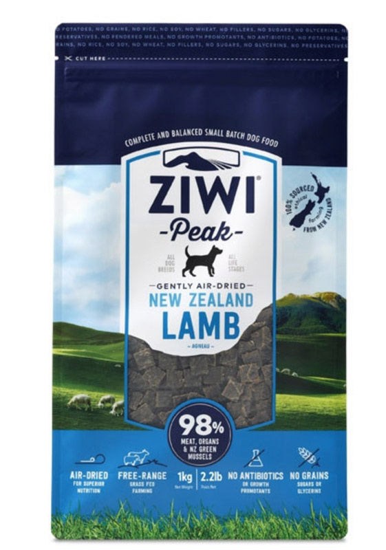 ZiwiPeak Dog - Air-dried Lamb 2,5 kg thumbnail