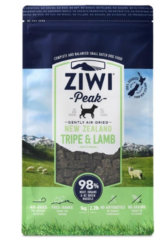 ZiwiPeak Dog - Air-dried Tripe & Lamb 2,5 kg thumbnail