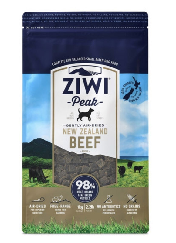 ZiwiPeak Dog - Air-dried Beef 4 kg thumbnail