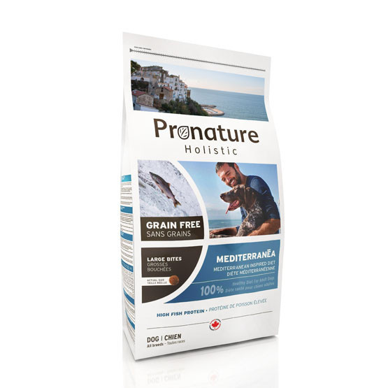 Pronature Holistic Dog - Mediterranea Adult - Large Bites KORNFRI 12 kg thumbnail