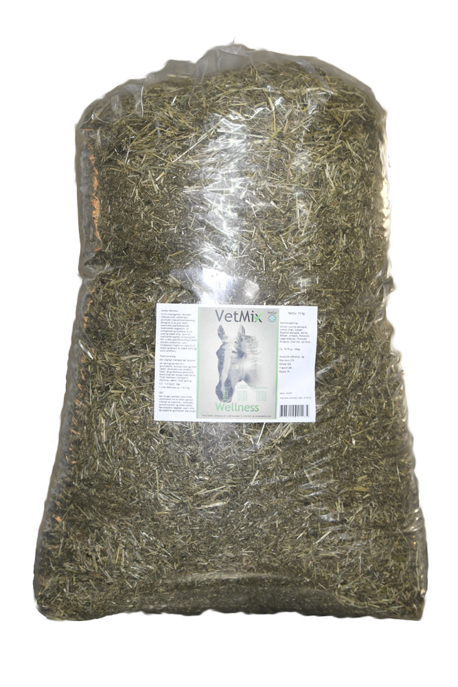 Image of   Vet Mix Wellness, tilskudsfoderblanding - 15 kg