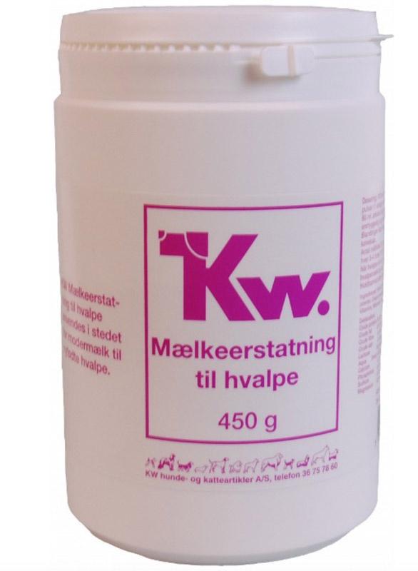 Image of   KW Mælkeerstatning til hvalpe, 450 g
