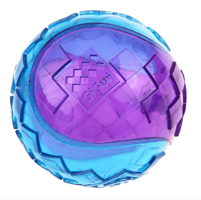 Image of   GiGwi Ball med piv - Ø 7 cm - kan flyde