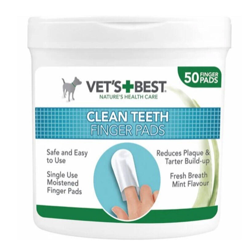 Image of   Vets Best clean fingertut til tandpleje