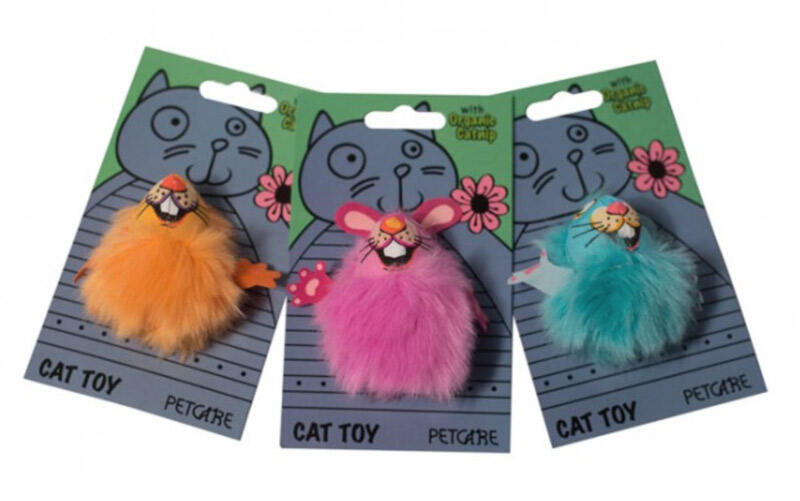 Image of   Cat Toy Fluff Bunnies, 7,5 cm