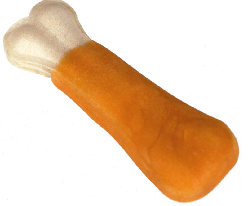 Faunakram, 50 g Dog Snack presset oksehudsknogle med kylling thumbnail