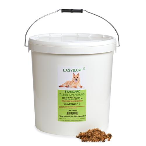 EASYBARF - Standard er til den raske voksne hund, 7,5 kg spand thumbnail