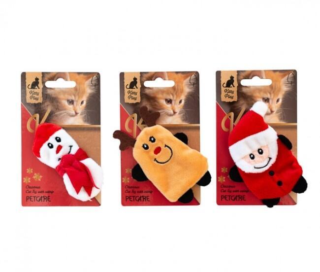 Julelegetøj til kat med catnip - 1 stk. thumbnail