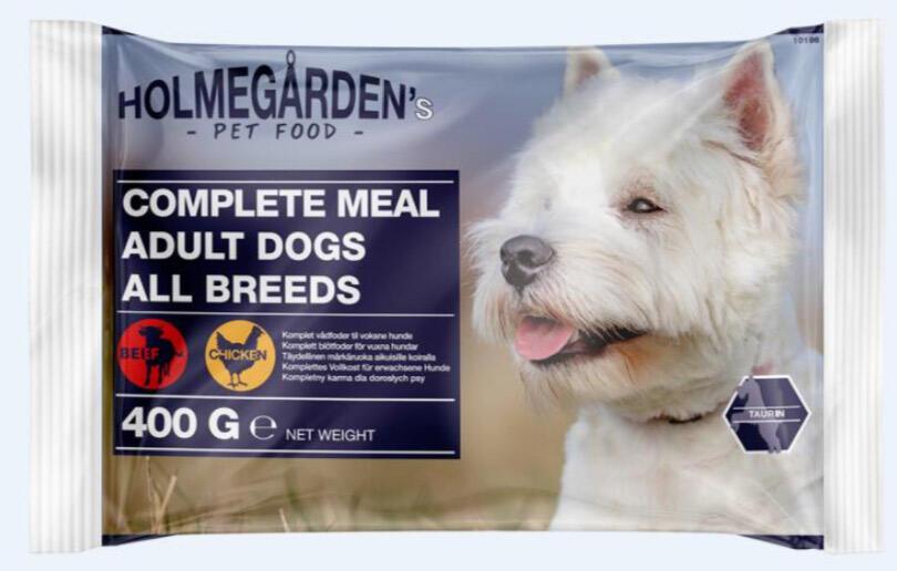 Holmega%CC%8Arden dog wet food 4 pcs. flowp Chicken & Beef