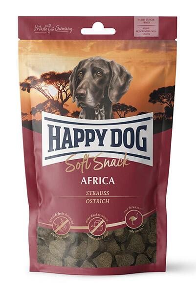HAPPY DOG Sensible Soft Snack Africa, 100 g singleprotein - KORNFRI