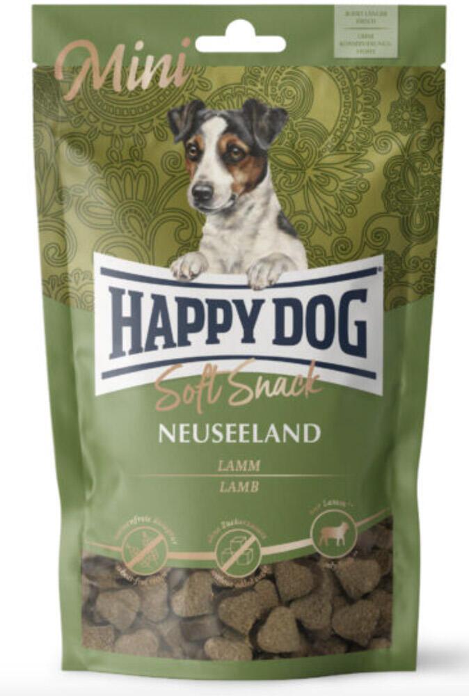 HAPPY DOG MINI Sensible Soft Snack Neuseeland, 100 g