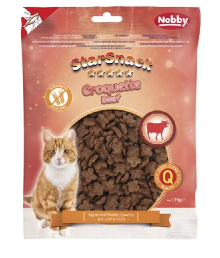 Star Snack Croquette Beef gluten free bag, 125 g