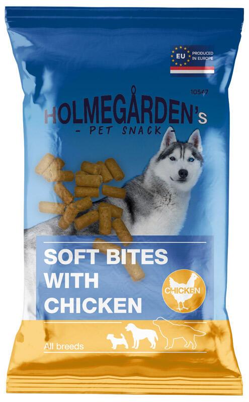 Holmegårdens, 120 g Soft Snack med kylling